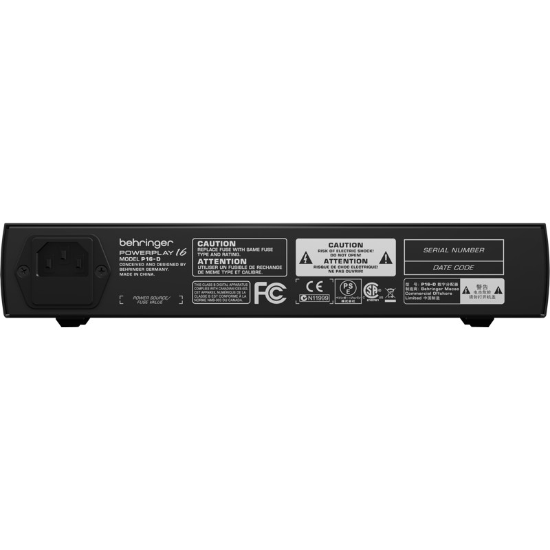 behringer in ear monitor system powerplay p16 d audiovisual fx sales. Black Bedroom Furniture Sets. Home Design Ideas