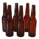 SMASHProps Breakaway Beer Bottle 6-Pack - BROWN